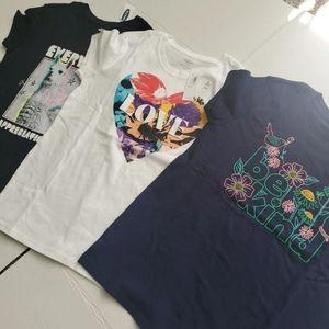 Girls shirts lot size 10/12 brand new.